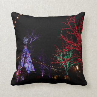 Christmas at Silver Dollar City Throw Pillow