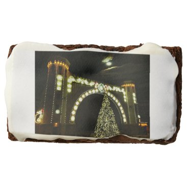 Beach Themed Christmas at the Band-shell Chocolate Brownie