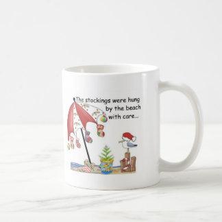 Christmas at the Beach Coffee Mug