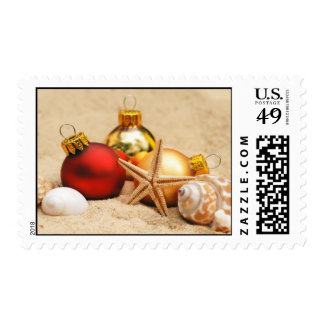 Christmas at the Beach Postage