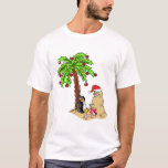 "Christmas at the Beach T-Shirt<br><div class=""desc"">Christmas at the Beach</div>"