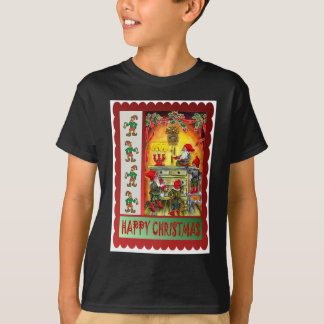 Christmas at the elves house T-Shirt