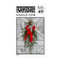 Christmas at the farm postage