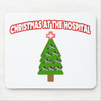 Christmas At The Hospital Mouse Pad