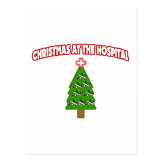 Christmas At The Hospital Postcards