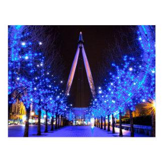 Christmas at the London Eye Postcard