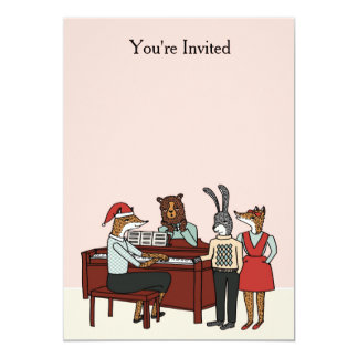 Christmas at the Piano Invitation
