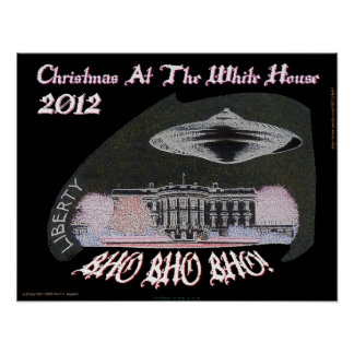 Christmas At The White House 2012 BHO BHO BHO! Posters