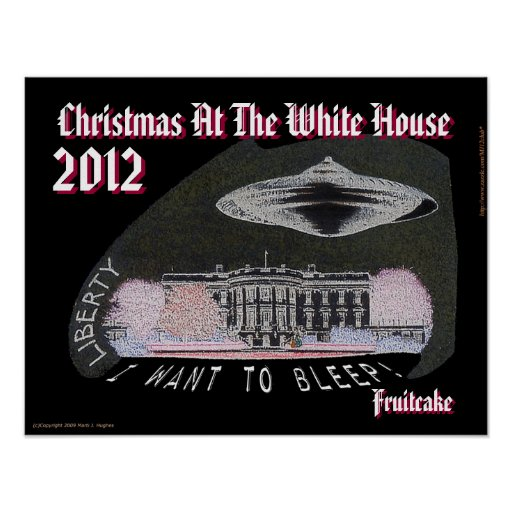 Christmas At The White House 2012 Fruitcake BLEEP! Poster