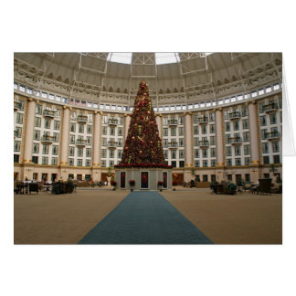 Christmas at West Baden Springs Greeting Card