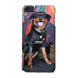 Christmas - Athena - Rottweiler iPod Touch (5th Generation) Cover