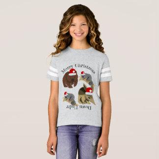 Christmas Australian Baby Animals T-Shirt