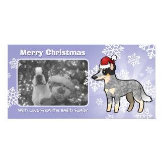 Christmas Australian Cattle Dog / Kelpie Card
