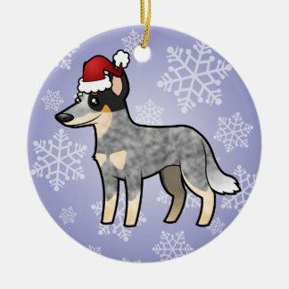 Christmas Australian Cattle Dog / Kelpie Ceramic Ornament