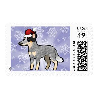 Christmas Australian Cattle Dog / Kelpie Postage