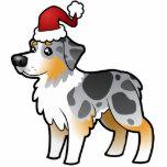 Christmas Australian Shepherd Ornament