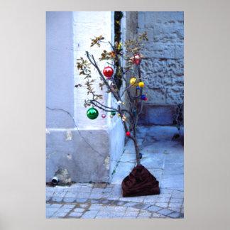 Christmas, Avignon, France Poster