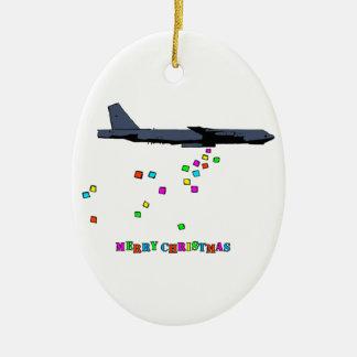 Christmas - B-52 Gifting - Ceramic Ornament