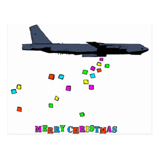 Christmas - B-52 Gifting - Postcard