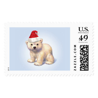 Christmas Babies Polar Bear Stamp