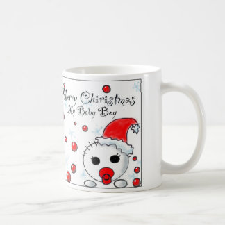 Christmas Baby Boy Gift Coffee Mug