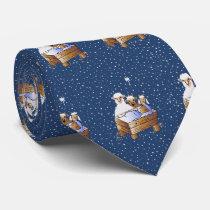Christmas Baby Jesus Nativity Neck Tie
