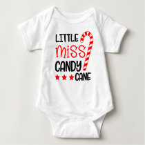 Christmas Baby Outfit in Red and White for Girl Baby Bodysuit