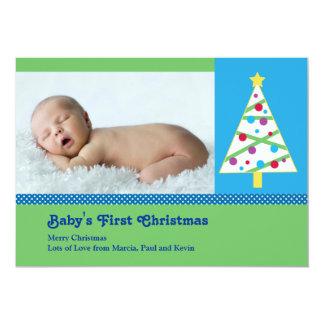 Christmas Baby Photo Card