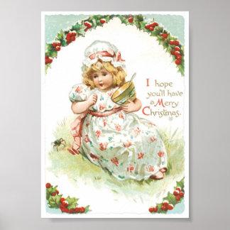 Christmas Baby Poster