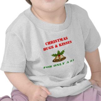 Christmas Baby T-Shirts  - Christmas Hugs & Kisses