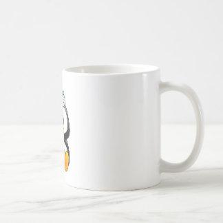 Christmas Baby Tux Santa Hat Classic White Coffee Mug