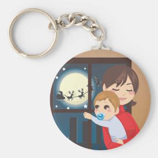 Christmas Baby Wish Keychain