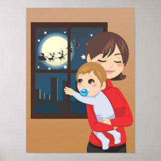 Christmas Baby Wish Poster