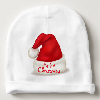 Christmas Baby's first Christmas Infant Hat