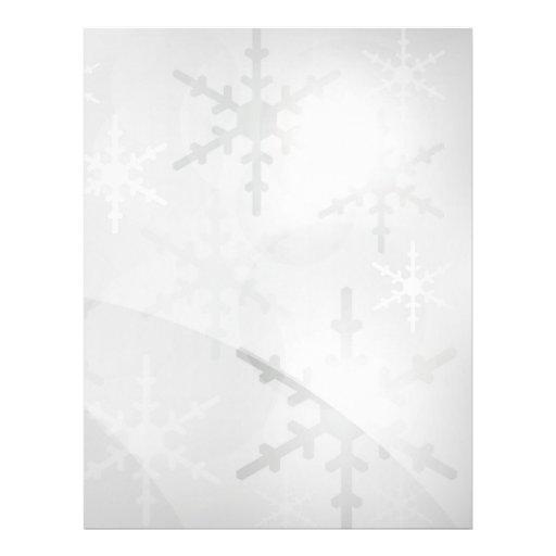 Christmas Background Personalized Flyer Zazzle