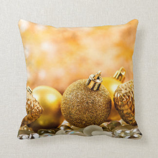 Christmas background pillow
