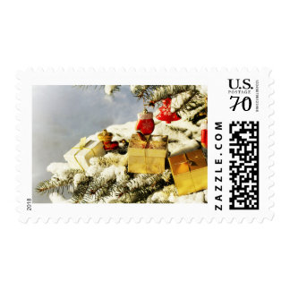 Christmas background. postage