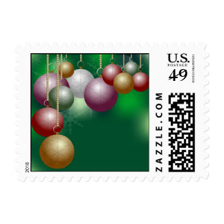 Christmas Background Stamps