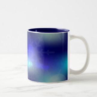 Christmas Background Two-Tone Coffee Mug