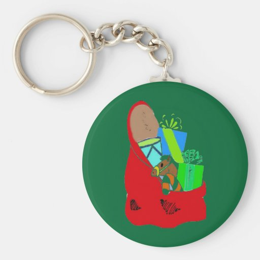 CHRISTMAS BAG OF GIFTS BY AES KEYCHAIN