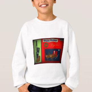 Christmas Bagpipe Theme Sweatshirt