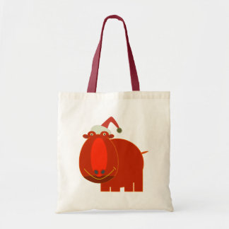 Christmas bags: Red Hippo