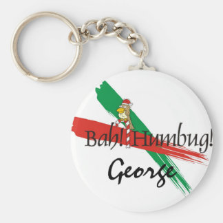 Christmas Bah! Humbug! Keychain