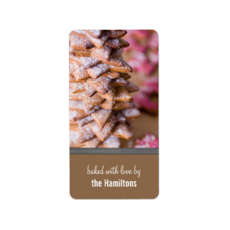 Christmas Baked Goods Tags Label