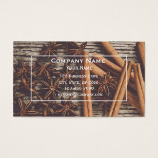 Christmas Bakery Business Card