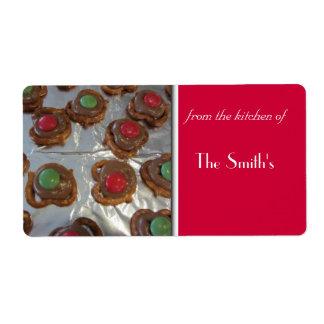 Christmas Baking Label