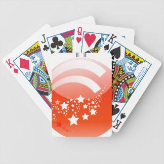 christmas-ball-1474 bicycle playing cards