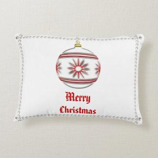 Christmas Ball #3 Accent Pillow