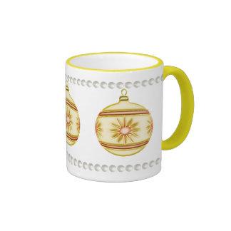 Christmas Ball #4 Ringer Mug