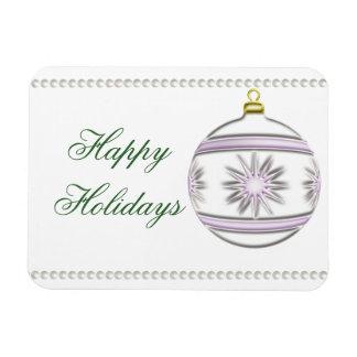 Christmas Ball #7 Rectangular Photo Magnet